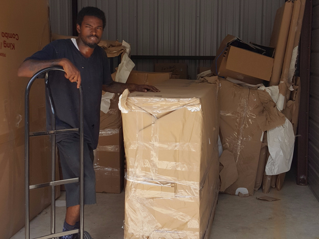 We package all items in preparation for storing